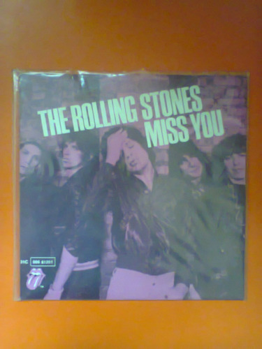 compacto the rolling stones miss you/far away eyes raro