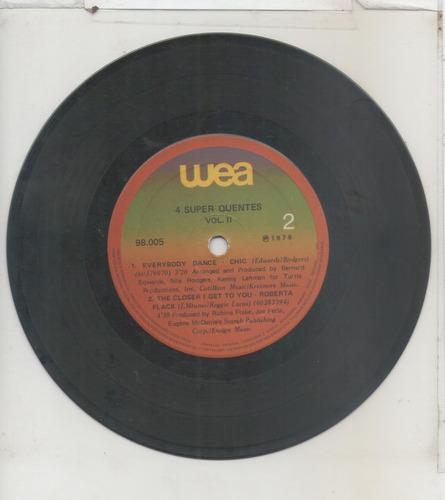 compacto vinil 4 super quentes - 1978 - wea internacional