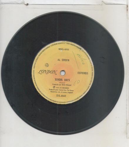 compacto vinil al green - sha-la-la - 1974 - london