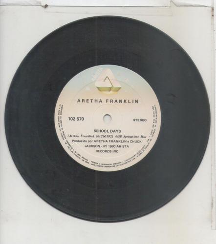 compacto vinil aretha franklin - school days - arista