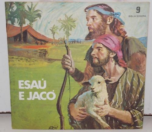 compacto vinil bíblia sonora esaú e jacó volume 9