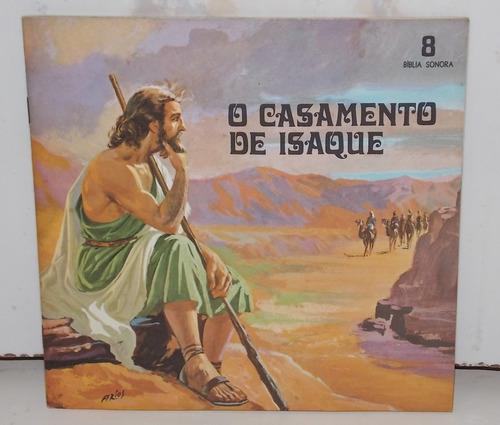 compacto vinil bíblia sonora o casamento de isaque volume 8