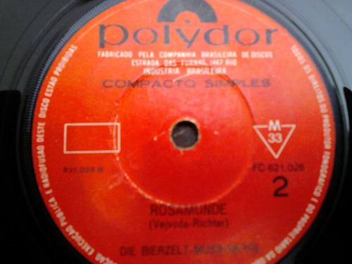 compacto vinil die bierzelt - musikante - rosamunde