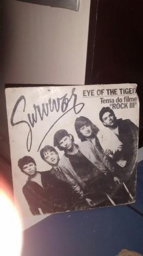 compacto vinil eye of the tiger survivor tema filme rock 3