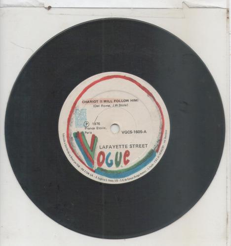 compacto vinil lafayette street - chariot - 1976 - vogue