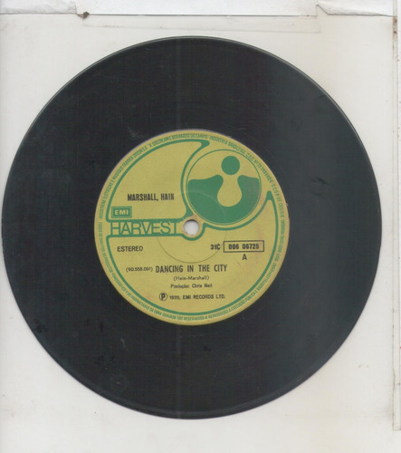 compacto vinil marshall hain - dancing in the city - 1978 -