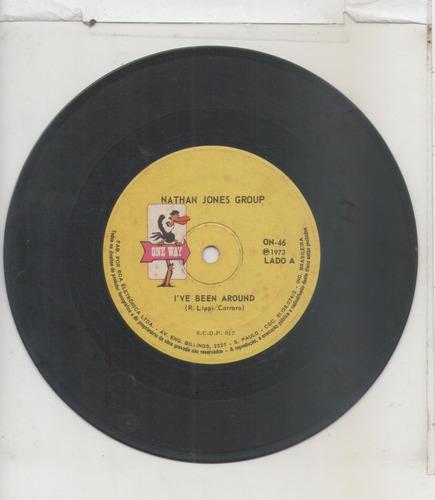 compacto vinil nathan jones group - i've been around - 1973
