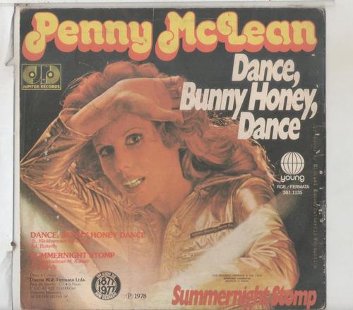 compacto vinil penny mclean - dance, bunny honey, dance - 19
