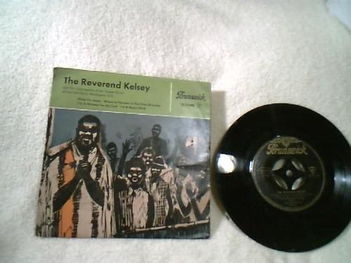 compacto vinil ( the reverend kelsey )   raridade