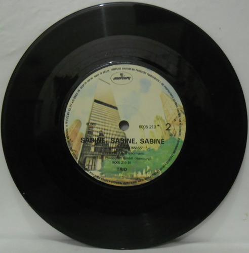 compacto vinil trio - da da da - 1981 - mercury