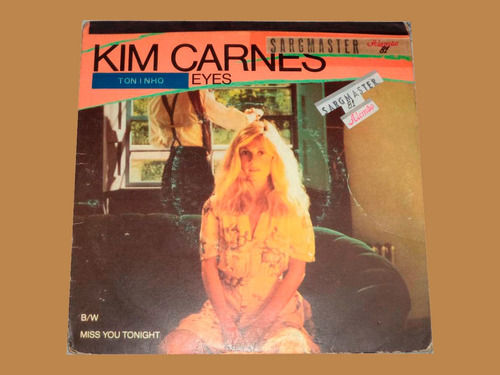 compacto/kim carnes bette davis eyes/ miss you ton - raro
