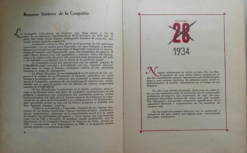 compañia colombiana de seguros 60 aniversario b274