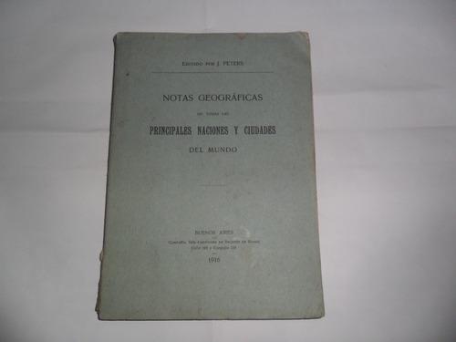 compañia sudamericana de billetes de banco j.peters 1916