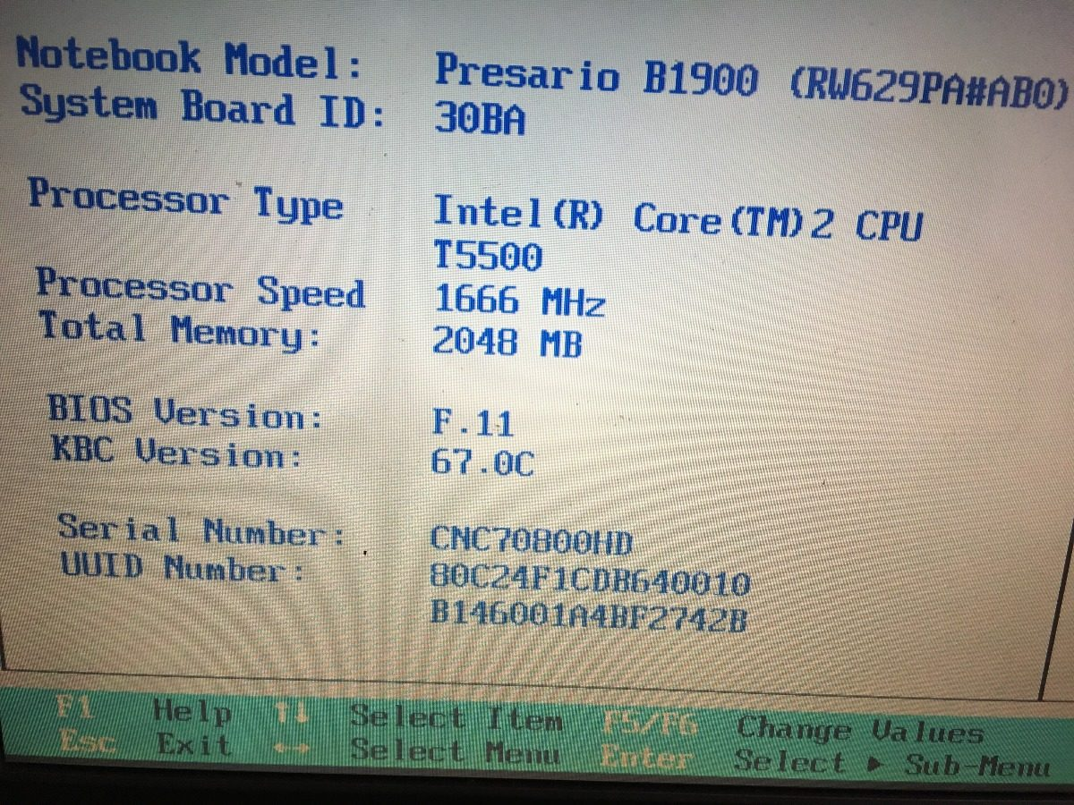 INTEL R CORE TM 2 CPU T5500 DRIVER FOR WINDOWS