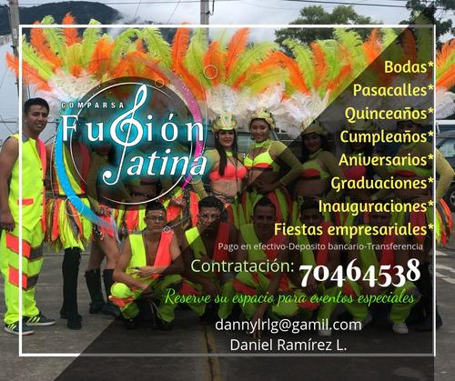 comparsa fusion latina.