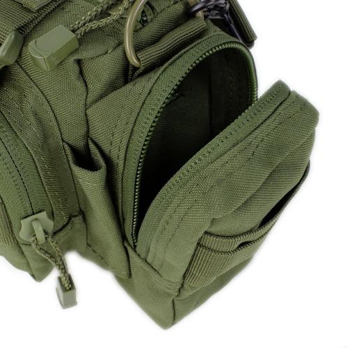compartimiento maletin condor molle deployment bag rojo