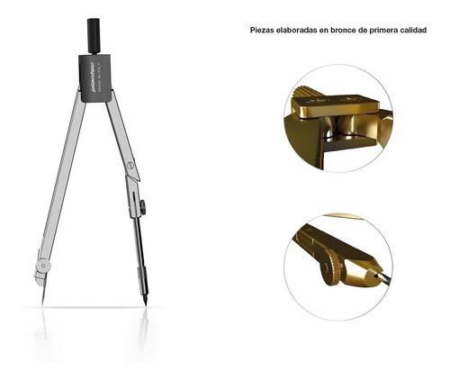 compas tecnico plantec codigo 9112 profesional metal