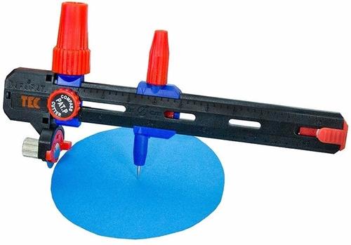compasso corte circular disco 18mm cortador papel eva