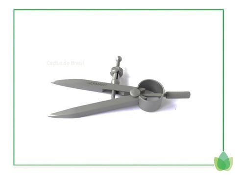 compasso para ourives ponta fixa 75mm alemão original