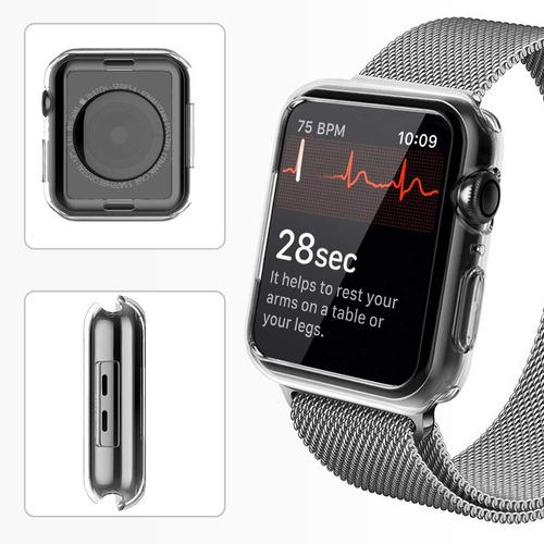 compatible con apple caja de reloj de la serie 4, honejeen r