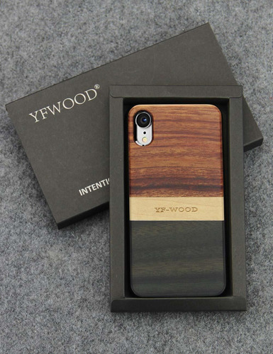 compatible para madera case xr iphone unique luxury rayas de