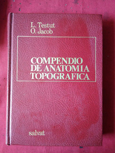 compendio de anatomia descriptiva testut jacob  #30