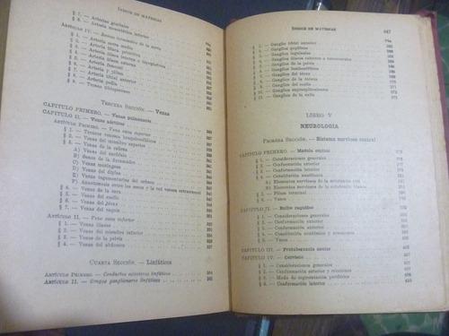 compendio de anatomía descriptiva. testut - latarjet. 1943