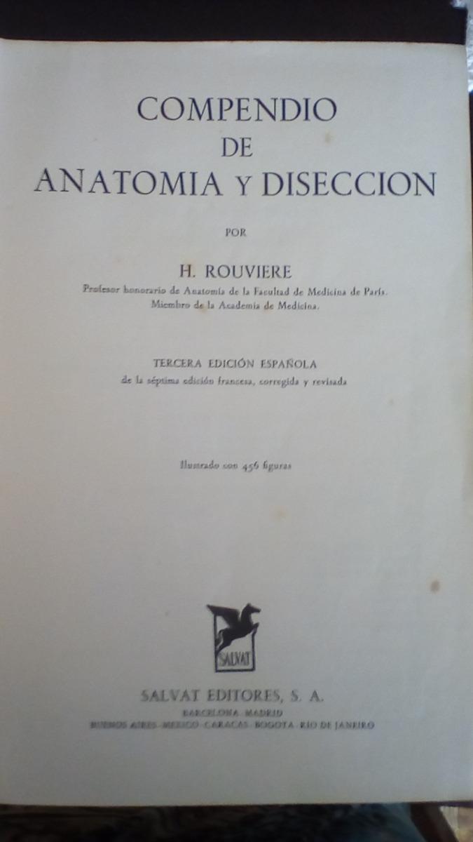 COMPENDIO DE ANATOMIA Y DISECCION ROUVIERE EBOOK DOWNLOAD