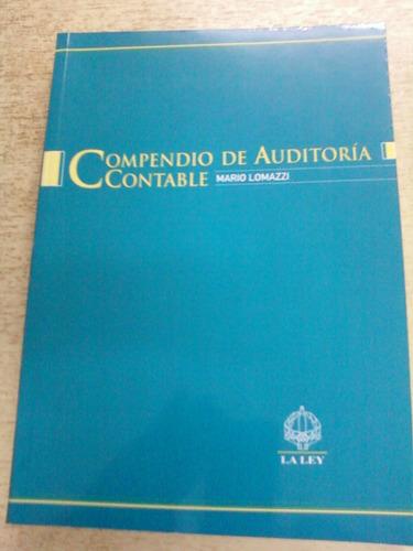 compendio de auditoria contable lomazzi