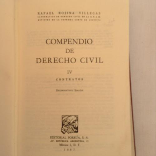 compendio de derecho civil  {!-- --{rafael rojina