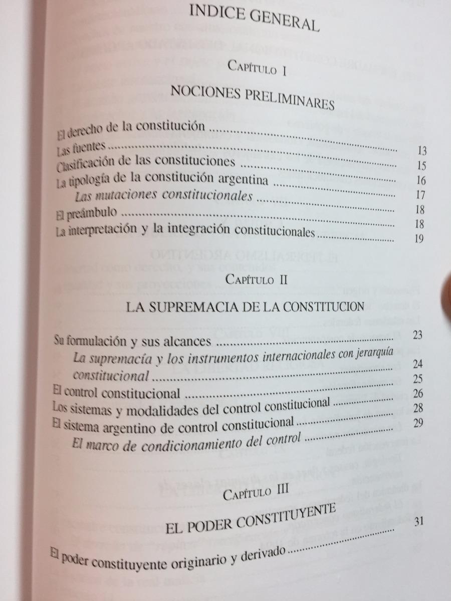 compendio de derecho constitucional bidart campos