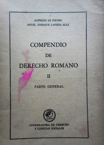 compendio de derecho romano