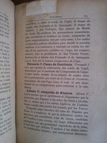 compendio de historia de españa. p. mingote y tarazona