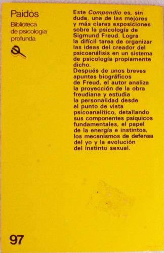 compendio de psicología  freudiana. calvin s. hall