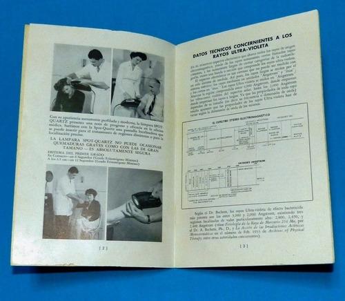 compendio de radiación ultra violeta diagnóstico filtro wood