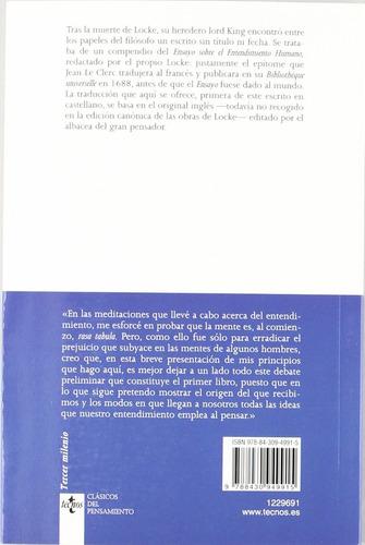 compendio del ensayo sobre el enten locke john