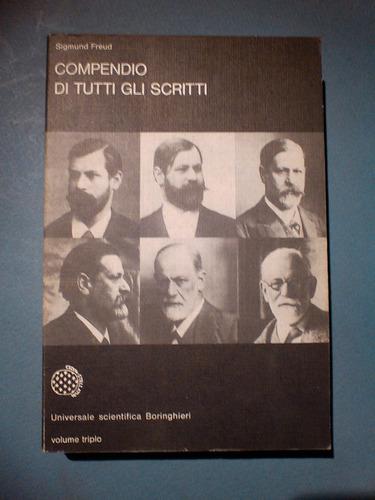 compendio di tutti gli scritti - sigmund freud- en iltaliano