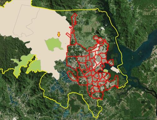 compensação ambiental - 320 hectares em joinville / sc