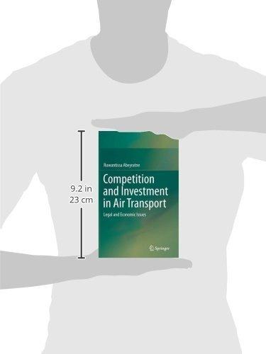 competencia e inversión en transporte aéreo: cuestiones