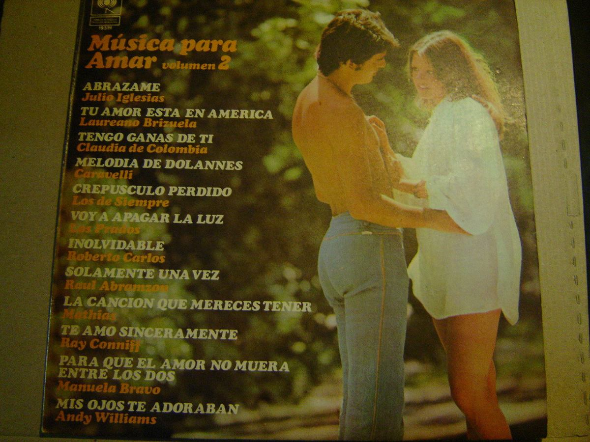 d1b8bd1a026c9 Compilado Musica Para Amar 2 - Manuela Bravo - Vinilo Lp -   224,00 ...