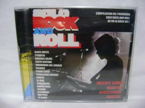 compilado solo rock and roll fm la boca cd nuevo sellado
