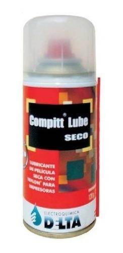 compitt lube delta lubricante seco impresoras 180cc