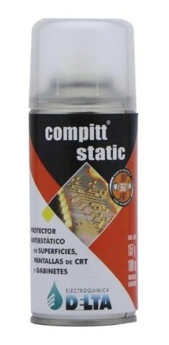 compitt static delta limpiador antiestatico 180cc - tofema