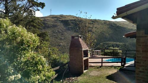 complejo 3 cabañas c/vivienda piscina e instalaciones. r e57