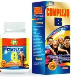 complejo b 100 capasulas 500ml extracto 100% natural