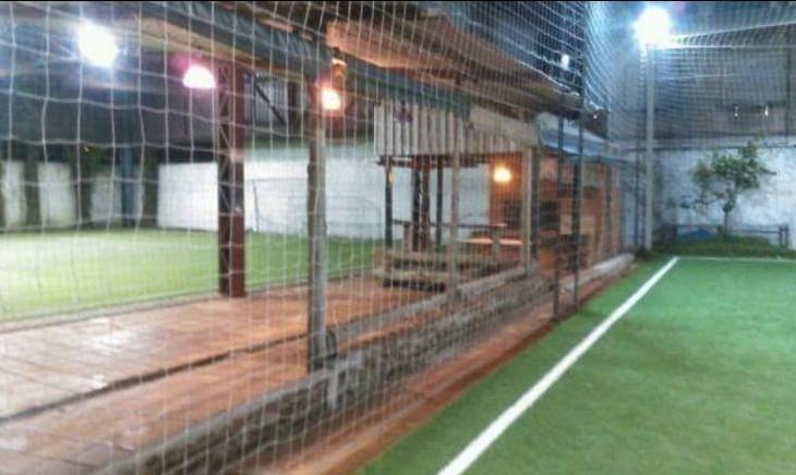 complejo deportivo, futbol, parrillero, vestuario