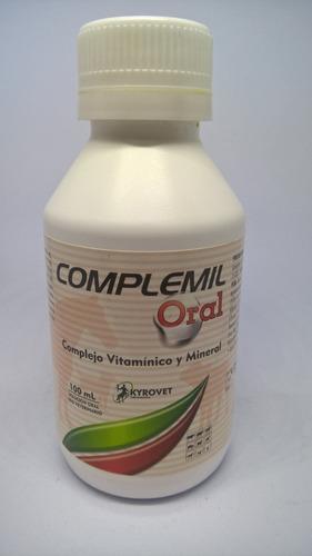 complemil oral complejo vitaminico para perros, gatos pollos