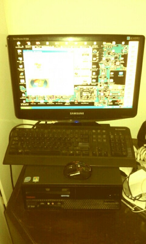 completa monitor computadora