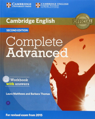 complete advanced 2nd ed - workbook con rta - cambridge