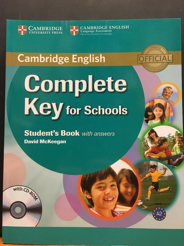 complete key for schools - student s book with key cambridge
